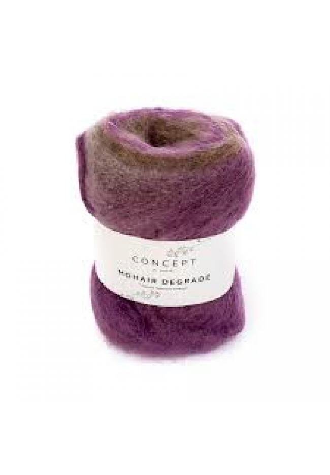 Mohair Degrade Mystique