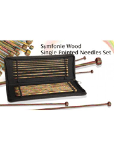 Symfonie Straight needle set 25cm or 30cm